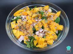 Receita de Salada de manga