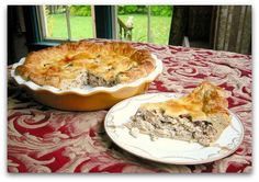 Chanterelle Chicken Mushroom Pie, a recipe on Food52 - Love this website and so excited to make this tonight!