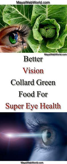 Better Vision Collard Green Food For Super Eye Health