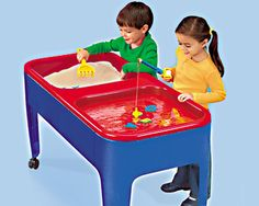 #LakeshoreDreamClassroom , Preschool Two Station Sand & Water Table from Lakeshore Learning
