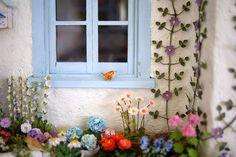 Lovejoy Bears: ♥ A Magical Wren in Mermaid's Cottage Garden ♥