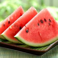 Watermelon may be one of the most appropriately named fruits. It is melon that is water . It is also got a healthy amount of Vitamin A and Vitamin C , potassium , magnesium , and other important nutrients. Eating Watermelon Seeds, Watermelon Cooler, Watermelon Slices, Watermelon Recipes, Watermelon Healthy, Watermelon Plant, Grilled Watermelon, Watermelon Nutrition, Healthy Recipes
