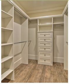 replace shelves at end of my closet to a set of drawers. way more functional