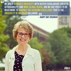 President Coleman reflects on her final leadership breakfast. #GoBlue