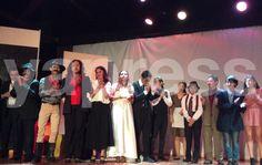 Escuela de Iniciación Artistica del INBA rinde homenaje a Cervantes / yapress