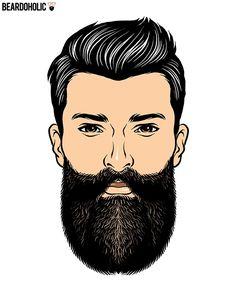24 Best Long Beard Styles - Beardoholic - The Harden – Full and Long Beard Styles Harden Beard - Types Of Beard Styles, Long Beard Styles, Types Of Beards, Beard Pictures, Hair Pictures, Beard Hair Growth, Body Sketches, Full Beard, Long Beards