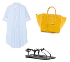 """""""Untitled #10"""" by aslimishka ❤ liked on Polyvore featuring Acne Studios, CÉLINE and Balenciaga"""