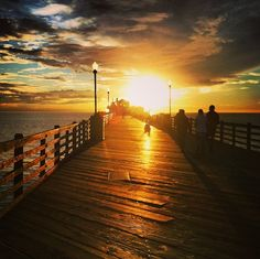 Wow! Beautiful photo of Oceanside Pier by smashgirl19 on Instagram