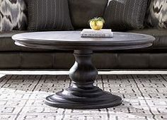 Bellevue Coffee Table - Find the Perfect Style! Living Room Decor Furniture, Furniture Care, Wooden Furniture, Round Table Top, Round Coffee Table, Chair Side Table, Wood Surface, Design Consultant, Cocktail Tables