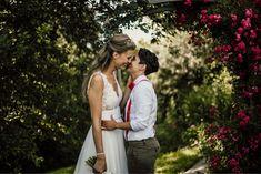 Wedding in Austria die Träumerei Burgenland #weddingaustria #austrianwedding #dieträumerei #Burgenland #Österreich #hochzeit #bohemian #decoration #weddingdecor #weddingcake #hochzeitstorte #Blumen #flowercake #gaywedding #lesbianwedding #loveislove #samesexwedding Wedding Decor, Engagement, Weddings, Couple Photos, Couples, Outdoor, Wedding Cake Flowers, Couple Shots, Outdoors