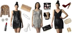 Sparkle and shine this New Year's Eve with a killer Basix Black Label dress and accessories that will rival the ball dropping!  #basixblacklabel #nye #nye2015