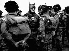 Old Photos of Superheroes