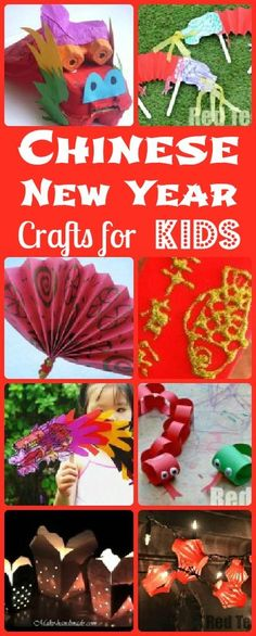 """From Red Ted Art: """"Explore Chinese New Year with this round up of fabulous activities. Make them to get into the festive spirit or """"any time of year"""", as they are fun!"""""""