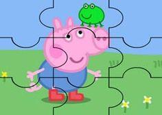 JuegosdePeppacom  Juego Rompecabezas Juguetes Peppa Pig Puzzles