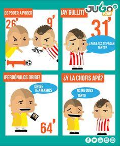 Pues sí, el #ClásicoNacional fue para el Club América.  Ni modo Chivas, la tuvieron y la dejaron ir, bueno, el Gullit.
