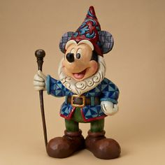 great for a travel gnome. Jim Shore Disney Traditions Mickey Mouse Large Garden Gnome Statue 4023526 | eBay