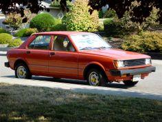 My 1981 Toyota Corolla Tercel 4 door, automatic - all original.....love it!