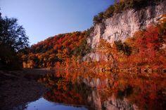 Buffalo National River near Marshall, Arkansas