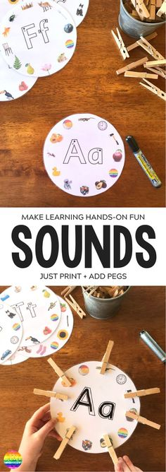 Initial Sounds Alphabet Circles - practice differentiating between beginning letter sounds while building fine motor skills and correct letter formation | you clever monkey