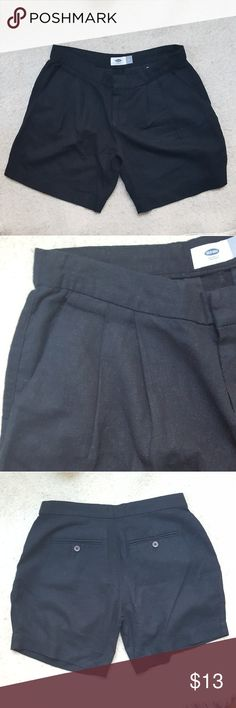 NWOT - Old Navy // Black Linen Shorts New Without Tags Old Navy  Black  Rayon / Linen Shorts Size: 2 Old Navy Shorts