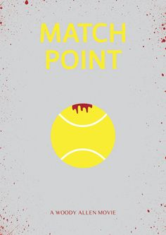 Match Point - minimal movie poster
