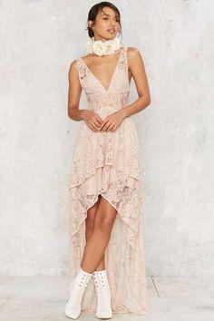 The Jetset Diaries Resort Lace Dress
