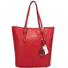 Bretton MICHAEL Michael Kors Outlet Jet Set Bag Red-cheap michael kors handbags online