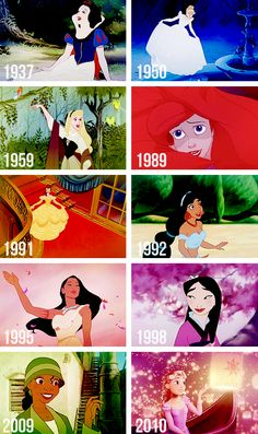 All the Disney princesses, well forgetting the movie Frozen but this pic is old