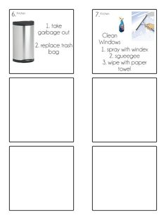 Chore Cards {Chore Flip Charts} - Tips from a Typical Mom