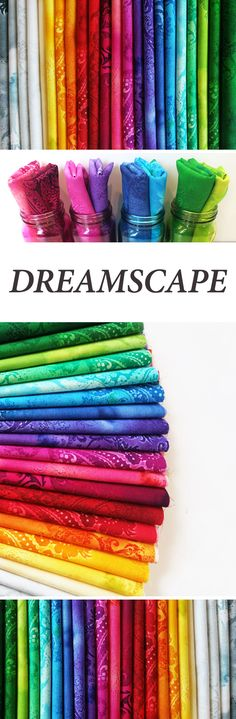 Dreamscape by Benartex Fabrics is a colorful fabric collection available at Shabby Fabrics!