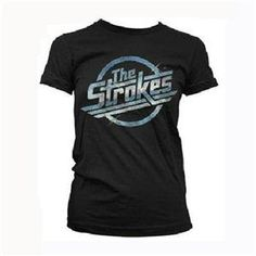 The Strokes Women's Magna T-Shirt (Black)