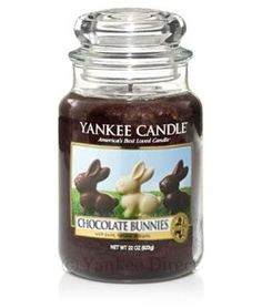 This one makes me hungry. I buy most of my candles at Yankee Candle Company. #YCEasterBasket