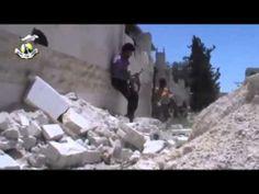 حلب الراشدين ــ جانب من اشتباكات الجيش الحر مع ميليشيات الاسد و حالش 20 ...