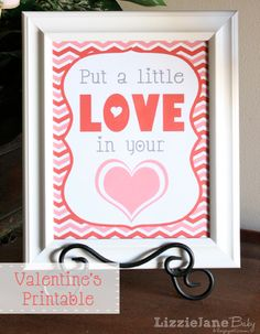 Love Heart Printable from LizzieJane Baby, featured @printabledecor1
