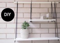 Uudessa Valossa: DIY Seinähylly ja betoniruukut