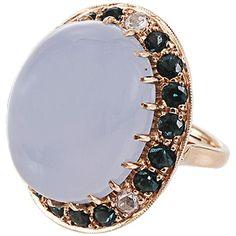 ANDREA FOHRMAN oval chalcedony ring $6700