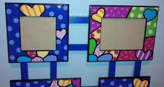 Frame, Vintage, Home Decor, Craft, House Decorations, Painted Furniture, Rich Colors, Art Classroom, Crates