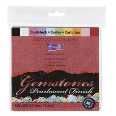 Core'dinations Gemstones™ Collection 6 x 6 Paper Pack @ConsumerCrafts.com