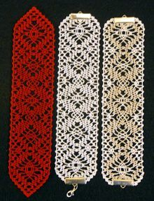 FSL Bobbin Lace Bookmark Set