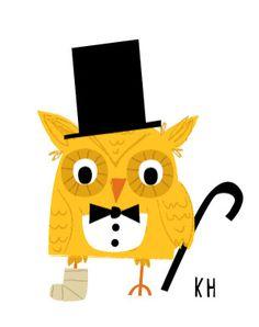 https://flic.kr/p/9zVNiz | Claude the owl | Logo for Willowbrook Wildlife Center's (www.willowbrookwildlife.com/) Night Owl Ball. They rehabilitate injured wildlife.