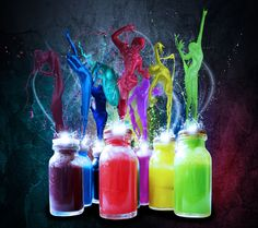 Abstract Sony Tablet Wallpaper of bright vibrant color paint pots with graffiti styled dancers colour matched in harmony. S4 Wallpaper, Handy Wallpaper, Graffiti Wallpaper, Paint Wallpaper, Wallpaper Gallery, Retro Wallpaper, Mobile Wallpaper, Colorful Wallpaper, Colorful Backgrounds