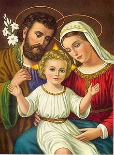 The Holy Family ---I'm so happy I found this!!!