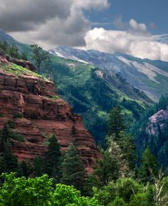 Above Ridgway, CO; Old Dollar Rd that crosses the old horse trail over to Telluride maybe?