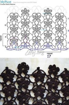 Diy Crafts - Creative Contents about DIY & Crafts, Knitting, Hairstyles, Beauty and more - Diy Crafts Crochet Flor De 8 Petalos Diy Crafts 5967270 Crochet Motifs, Crochet Diagram, Crochet Stitches Patterns, Crochet Chart, Stitch Patterns, Knitting Patterns, Diy Crafts Crochet, Crochet Projects, Crochet Flowers