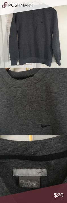 Vintage Grey Nike pullover sweatshirt Vintage vtg grey Nike pullover sweatshirt  Supreme condition  No stains no damages no holes  Fits perfect to size Nike Shirts Sweatshirts & Hoodies