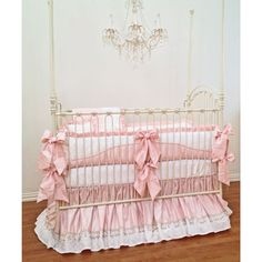 Moet Baby Bedding from PoshTots.  Great with soft grey walls, accents