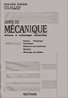 Guide de Mécanique cours et excercices ~ Cours D'Electromécanique