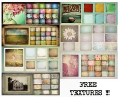 Free Textures! :)