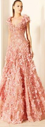 お色直しで着たい、桜をまとったカラードレス♡ 桜の時期のウェディングのアイデア。結婚式/ブライダルの参考に☆