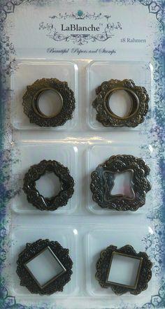 LB 18 Metallrahmen-bronze - LaBlanche Webshop